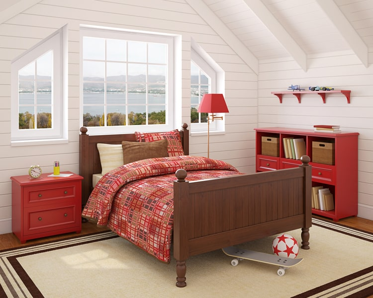 bedroom red bedrooms 17 269897186