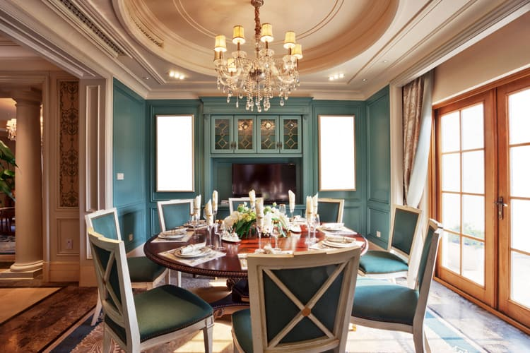dining room luxurious 15 166855289