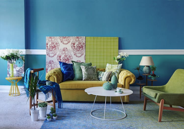 living room colorful 02 283140074