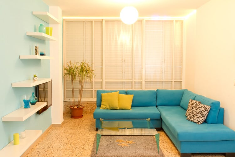 living room colorful 14 107397893