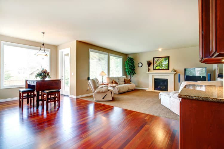 living room hardwood floor 10 185355719
