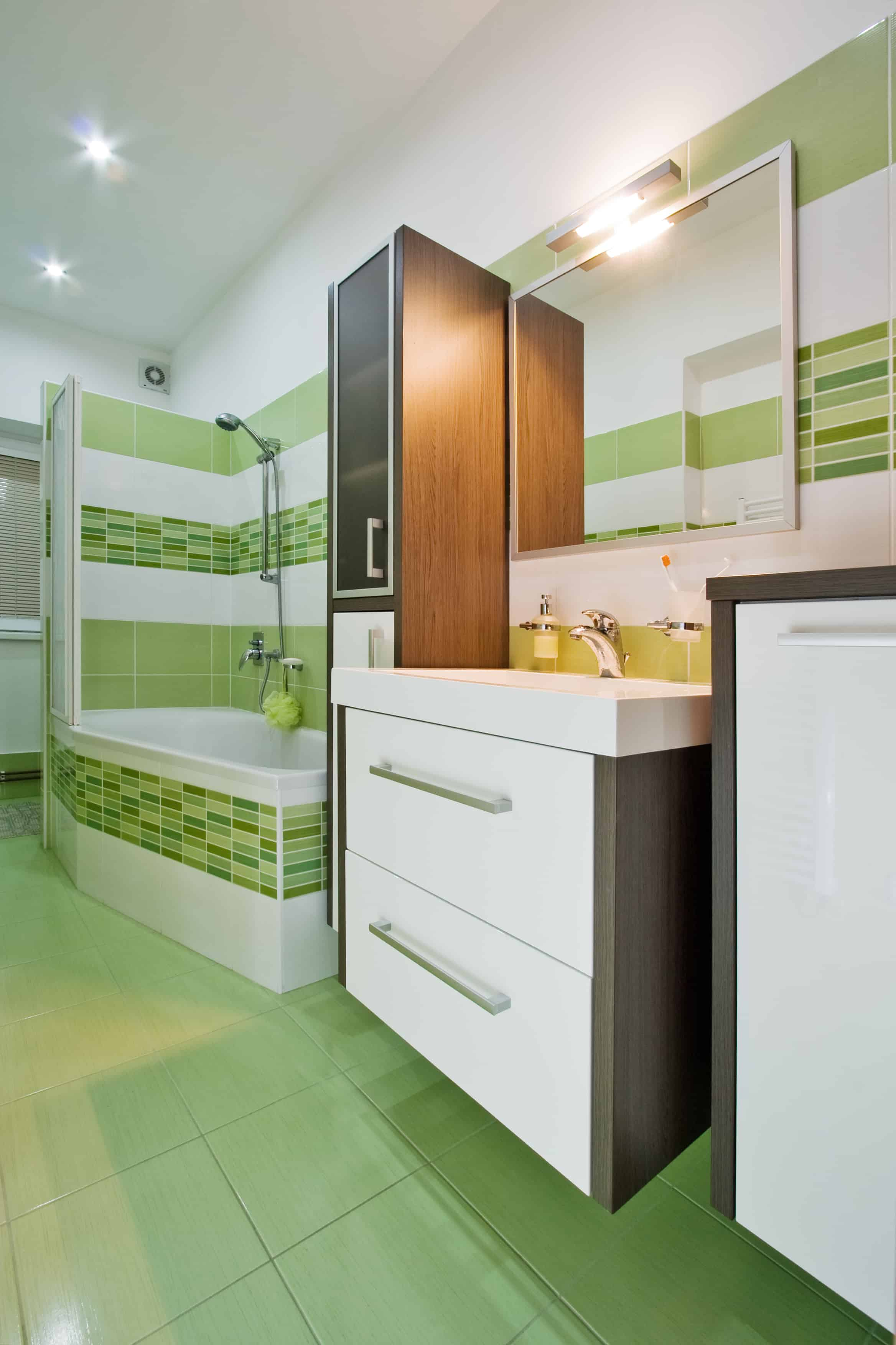 Green Bathrooms 26