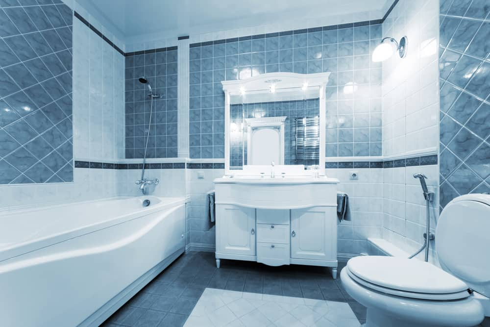 Blue Bathrooms 78