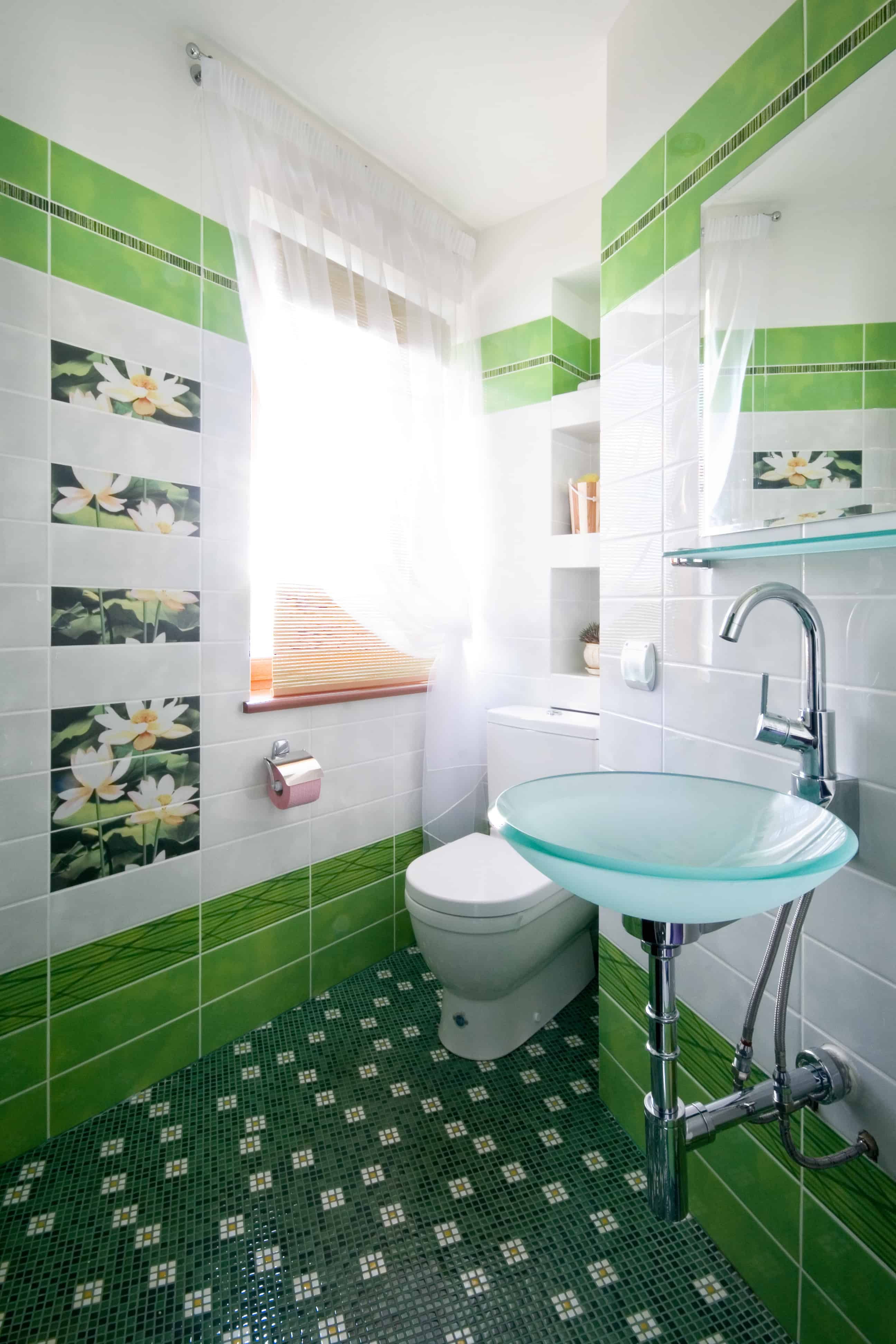 Green Bathrooms 28