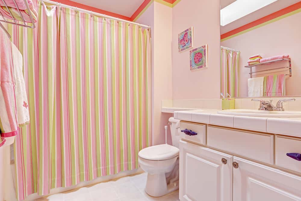 Pink Bathrooms 13