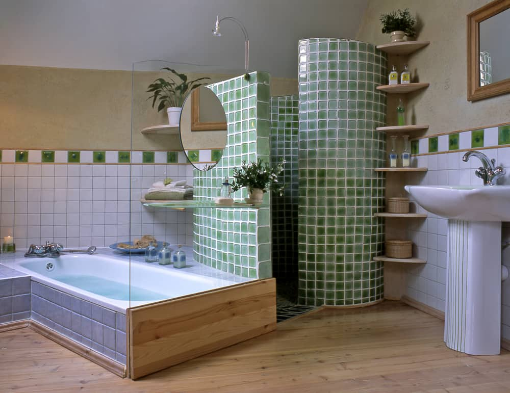 Green Bathrooms 30