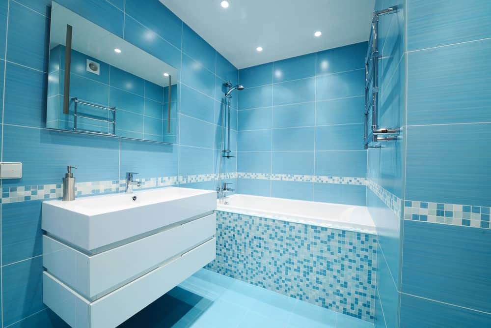 Blue Bathrooms 81