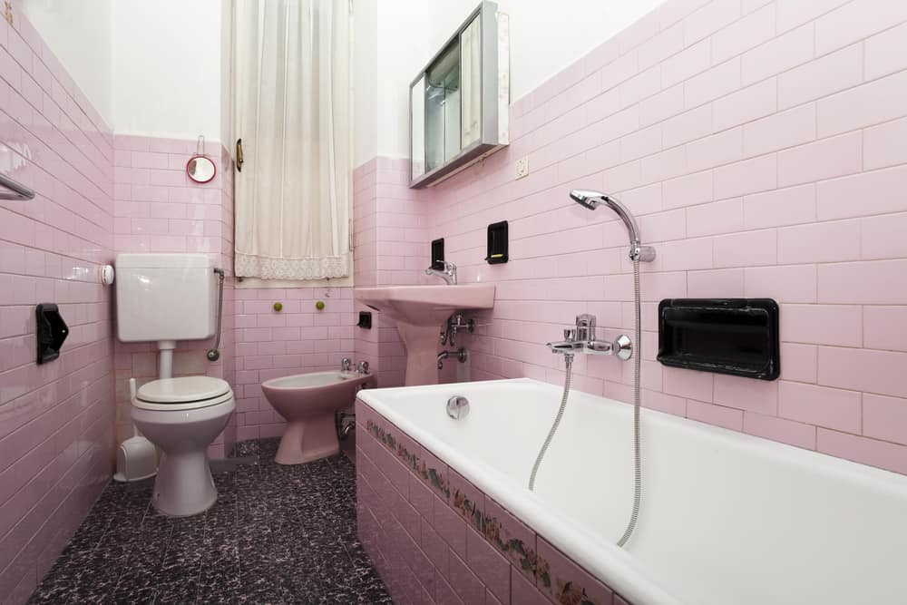 Pink Bathrooms 14