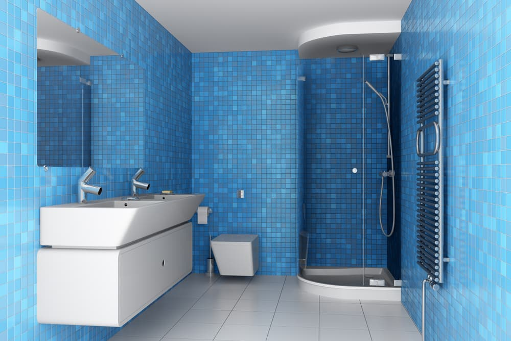 Blue Bathrooms 69