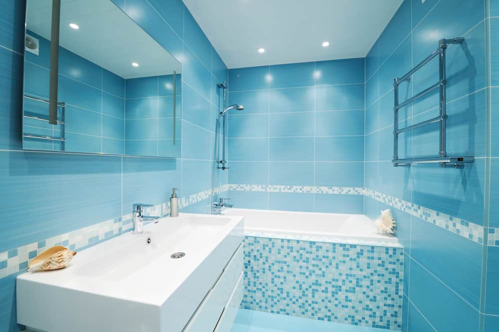 Blue Bathrooms 71
