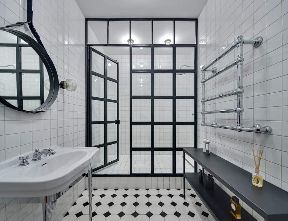 Black and White Bathrooms 116