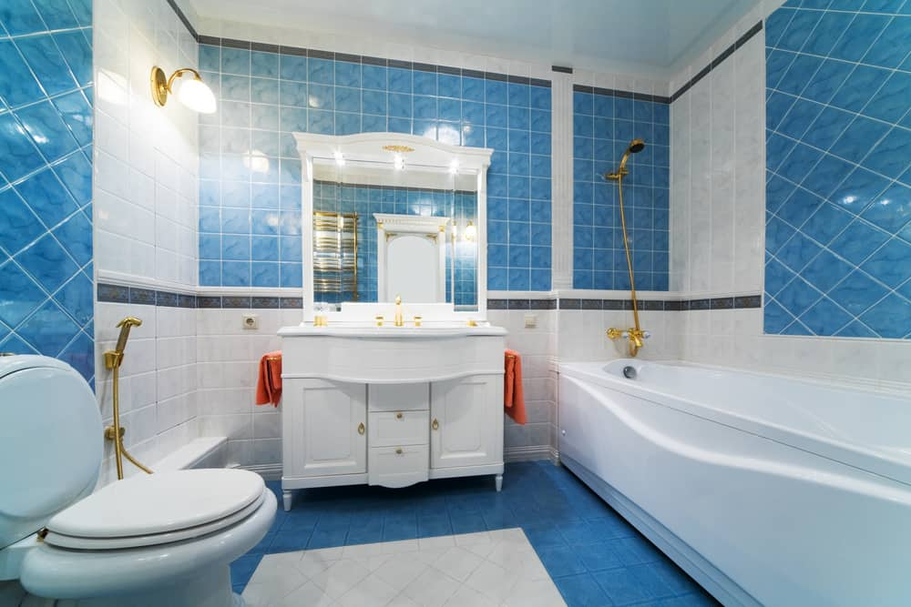 Blue Bathrooms 73