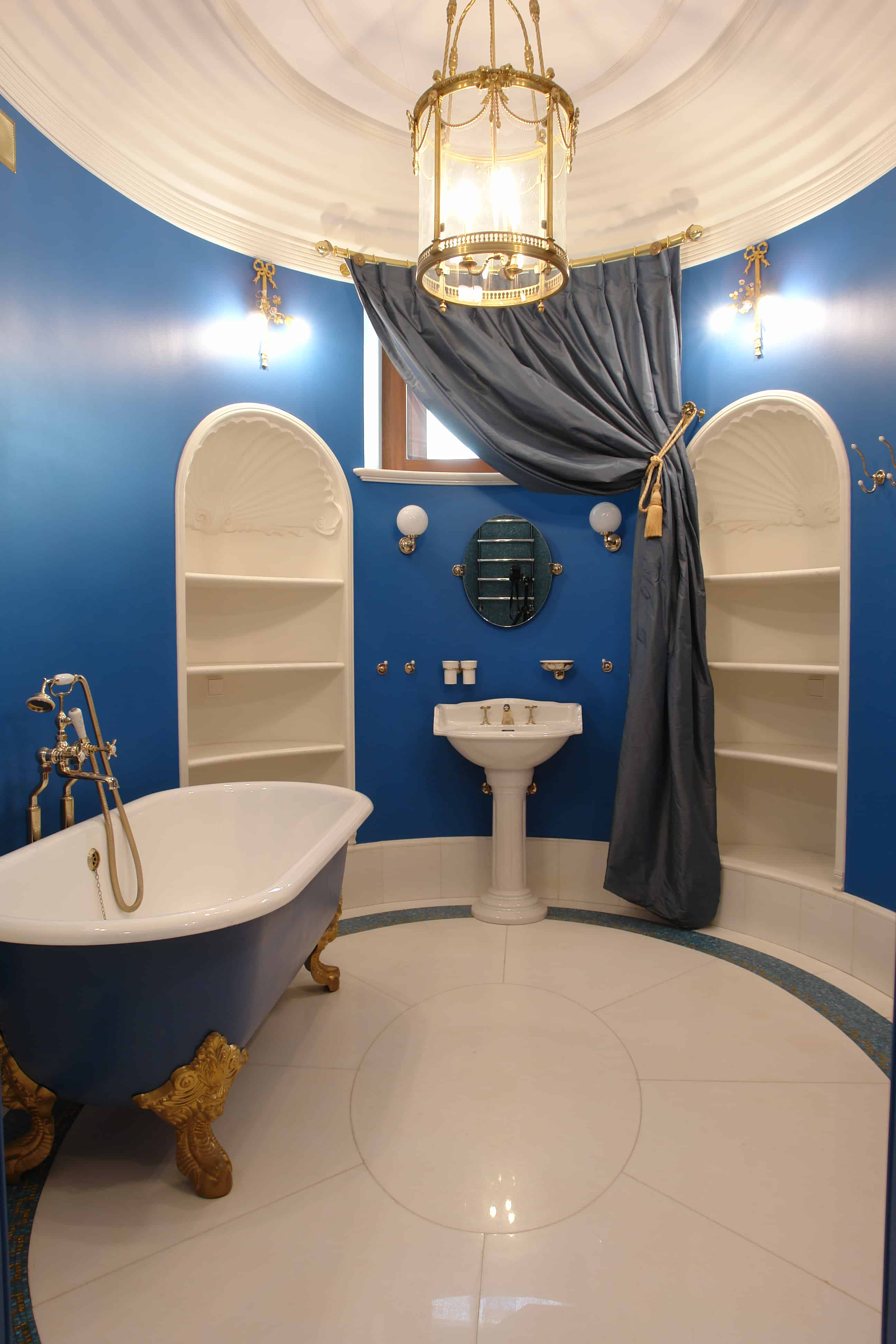 Blue Bathrooms 74