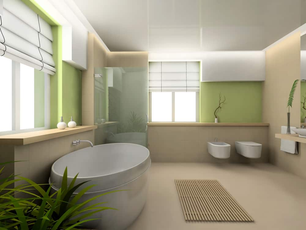 Green Bathrooms 24