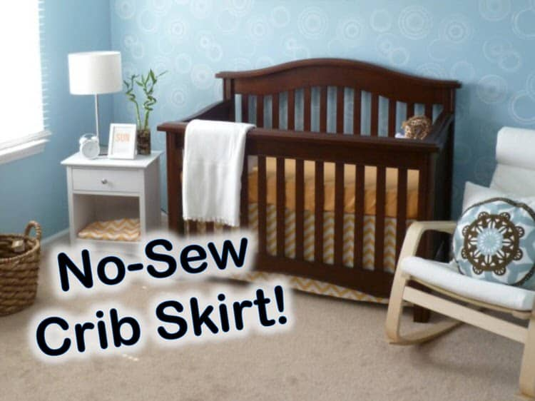 When you have a small one in your home, a crib is an important piece of furniture. Make your crib pop with style and functionality in your own homemade crib skirt. With this fabulous piece and a touch of creativity, you can make your crib fit with any style.