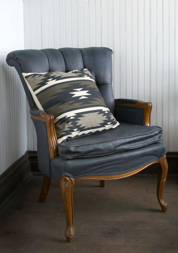 Here is one way to refurbish an old chair with paint. You can breathe new life into your furniture rather than letting those old pieces go to waste, as well as spend far less money revamping.