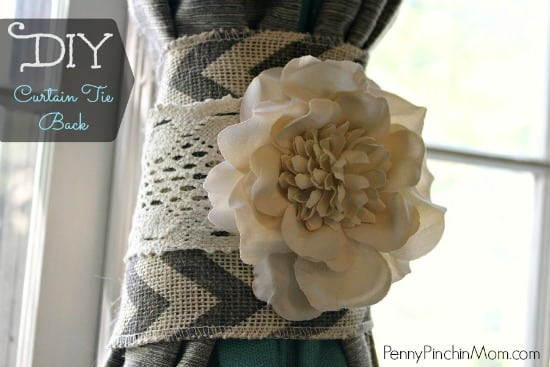 This DIY project featuring ribbons can help tie back your curtains in wonderful style. There are a number of opportunities you will have to add in extra design elements while tying back all kinds of curtains and cords.