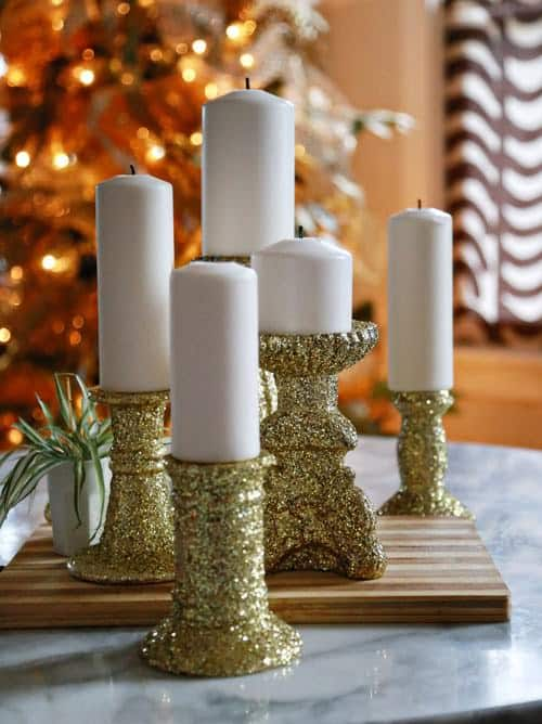 With the aid of glitter you can make any decoration stand out. Old and/or worn out decorations can be rejuvenated and given a new purpose with some work and glitter. This is great for holiday and special event decorations.
