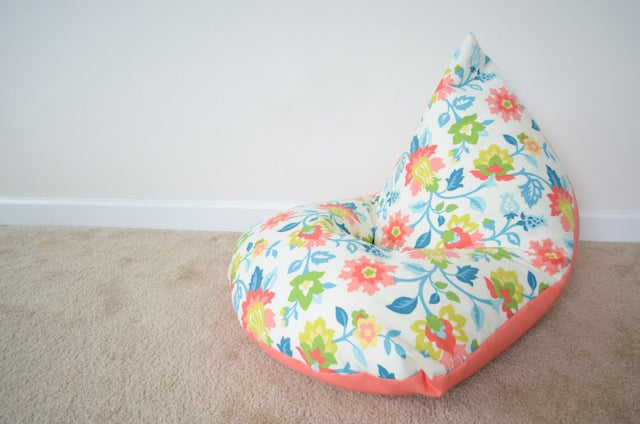 A great project to make extra seating for children is a DIY beanbag chair. This is a quick and easy project that your kids will surely enjoy. They will love sitting in this seat while reading, resting, or playing video games.