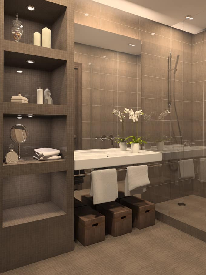Modern Bathroom Ideas 25