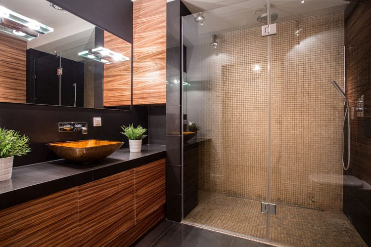Bathrooms With Frameless Shower Doors 34