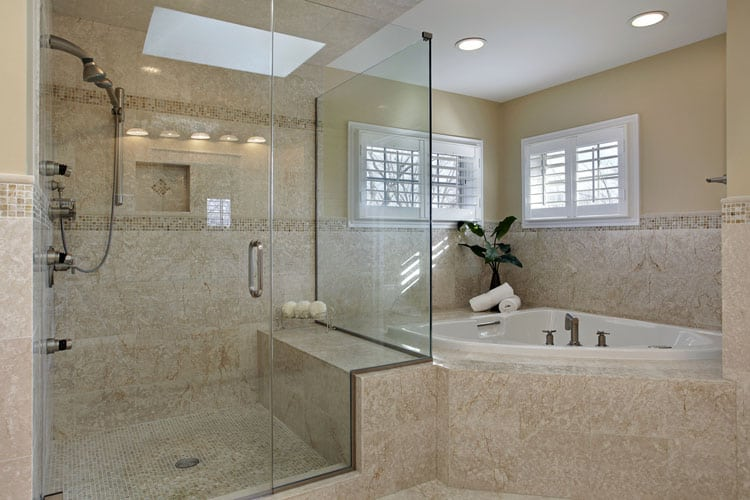 Bathrooms With Frameless Shower Doors 38