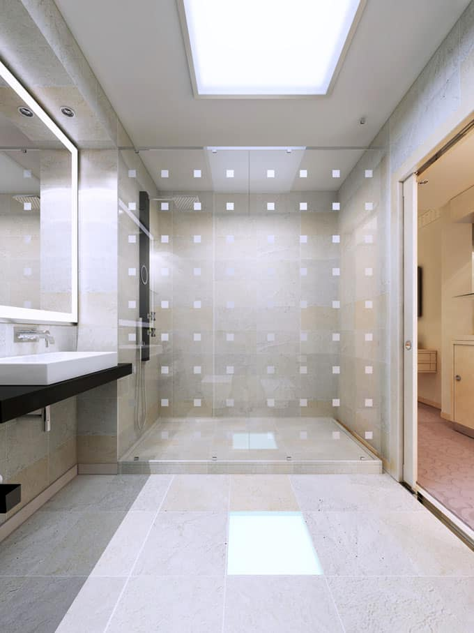 Bathrooms With Frameless Shower Doors 40