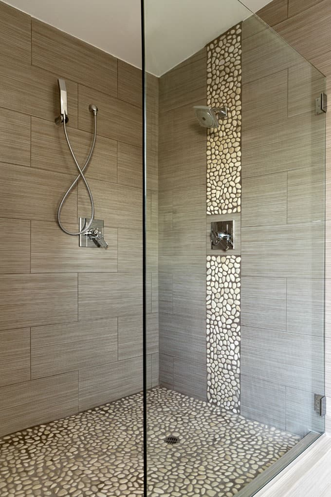 Bathrooms With Frameless Shower Doors 44