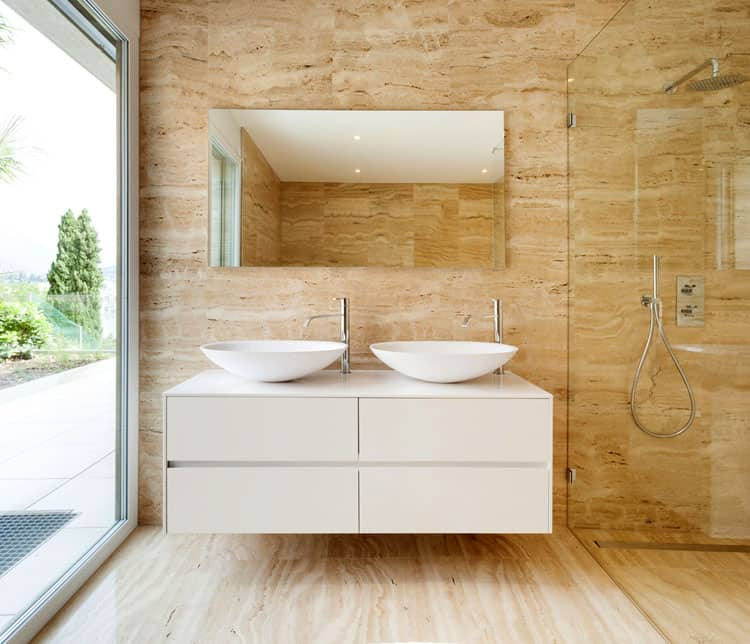 Bathrooms With Frameless Shower Doors 45