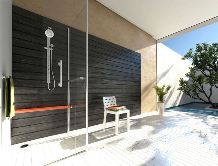 Bathrooms With Frameless Shower Doors 46
