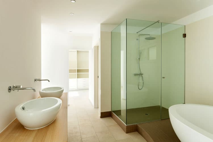 Bathrooms With Frameless Shower Doors 48
