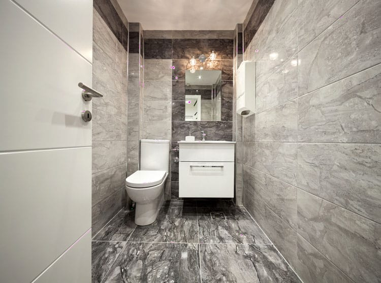 Half Bathroom Ideas 60