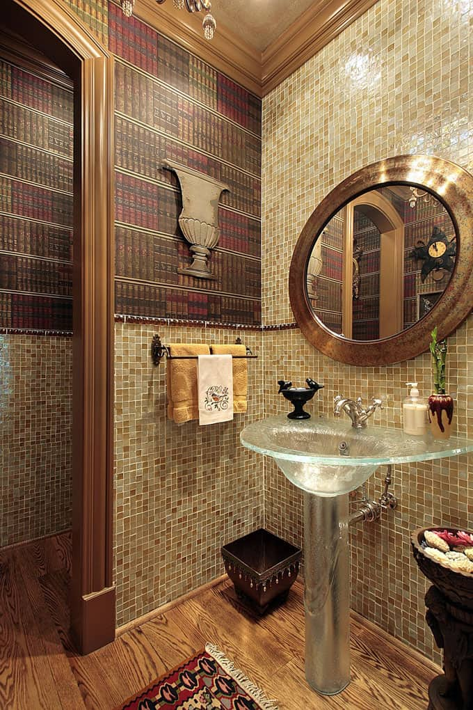 Half Bathroom Ideas 67