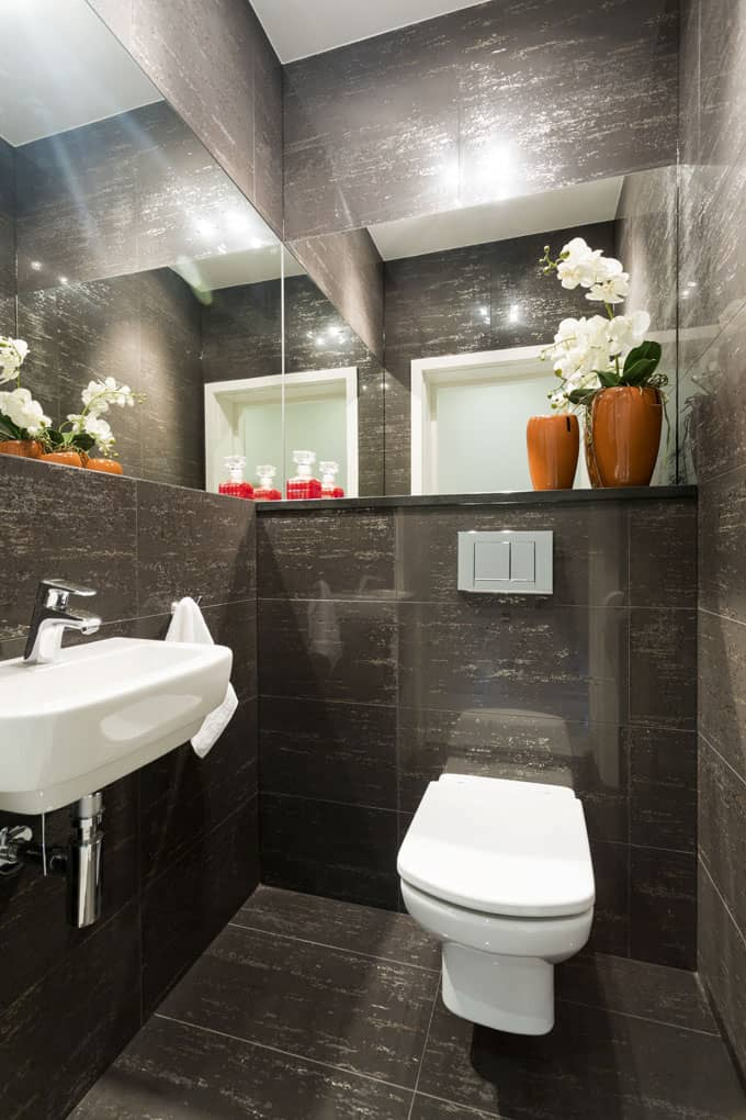 Half Bathroom Ideas 74
