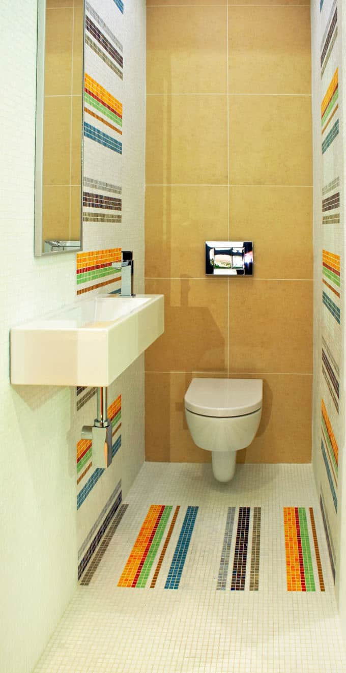 Half Bathroom Ideas 77