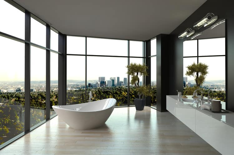 Modern Luxurious Master Bathrooms 190