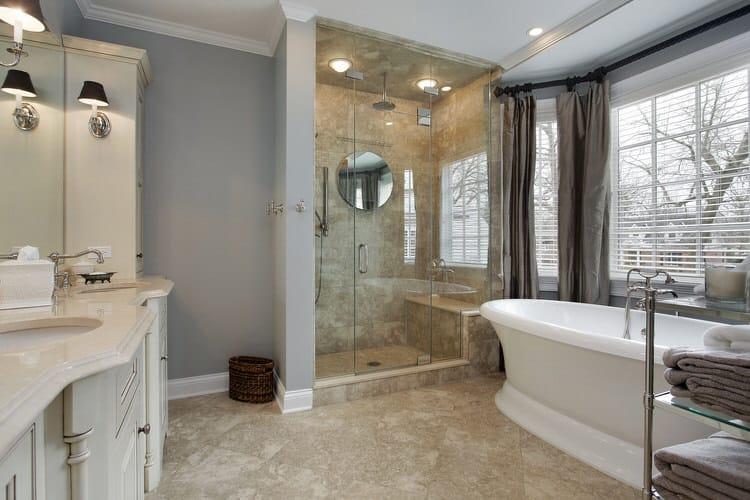 Modern Luxurious Master Bathrooms 195