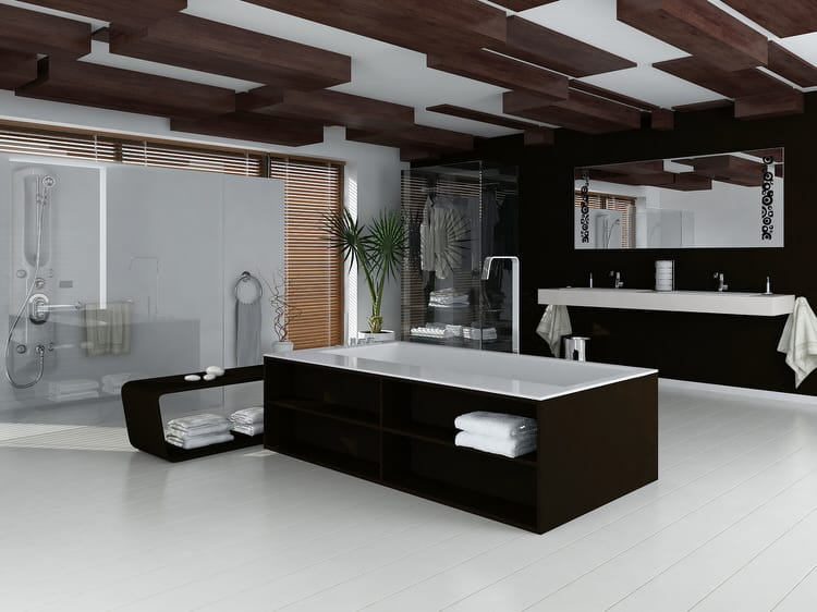 Modern Luxurious Master Bathrooms 197