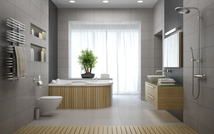 Modern Luxurious Master Bathrooms 207