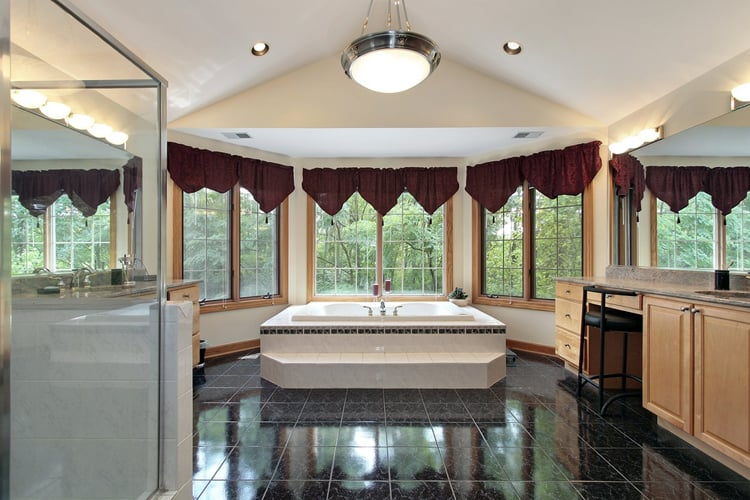 Modern Master Bathrooms 162