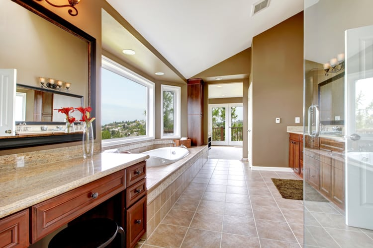 Modern Master Bathrooms 165