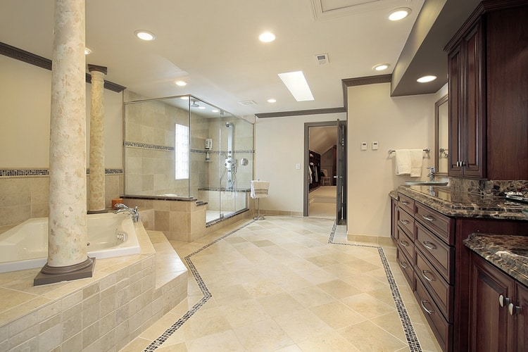 Modern Master Bathrooms 167