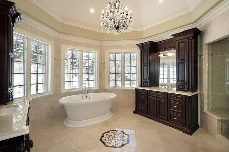 Modern Master Bathrooms 168