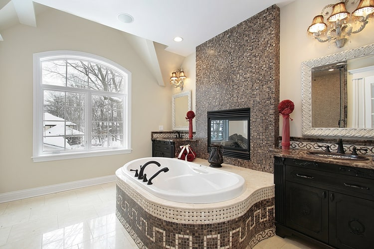 Modern Master Bathrooms 169