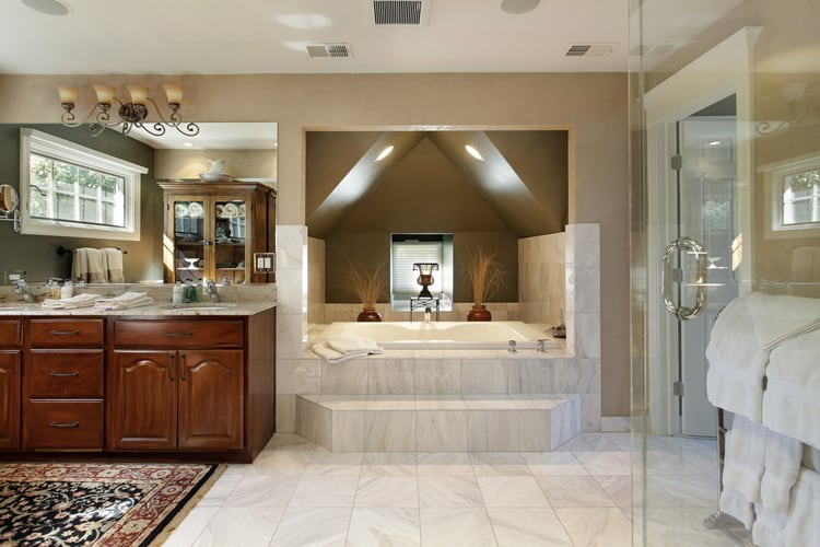 Modern Master Bathrooms 170