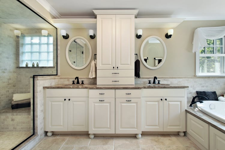 Modern Master Bathrooms 171
