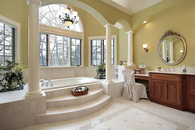 Modern Master Bathrooms 172