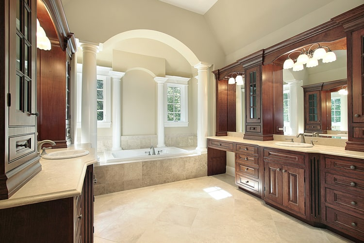 Modern Master Bathrooms 173