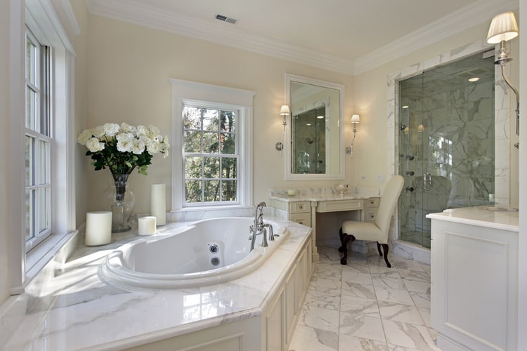 Modern Master Bathrooms 174