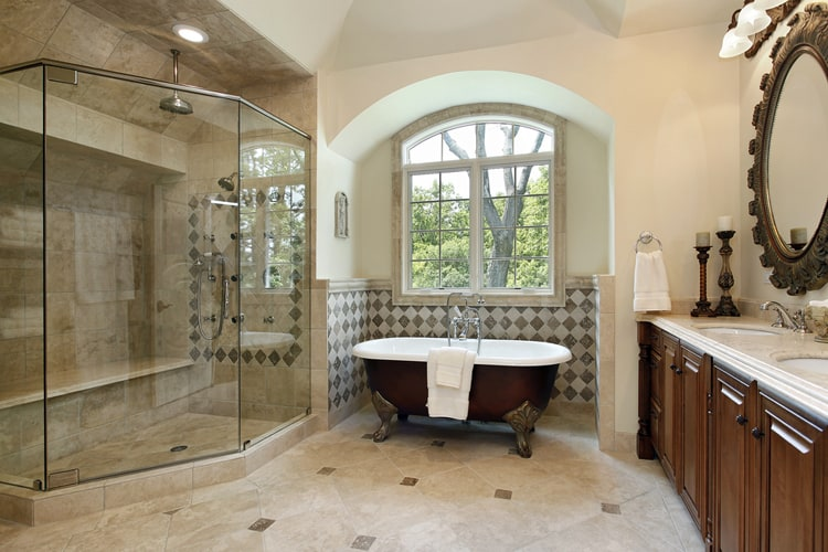 Modern Master Bathrooms 175